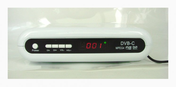 DVB-C Digital Cable TV Set