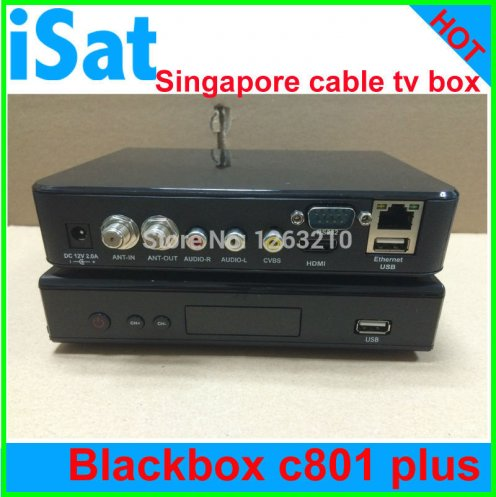 DHL Singapore cable box