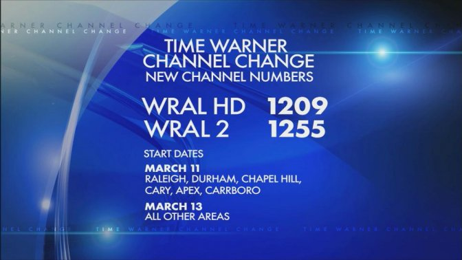 Time Warner changing channel
