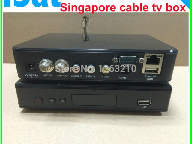 Digital cable descrambler Black box