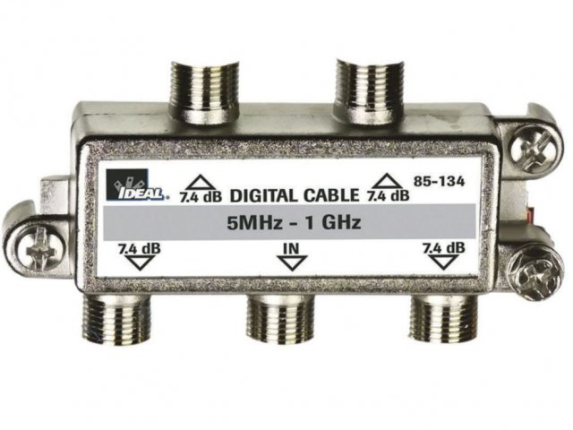 Digital cable TV Splitter