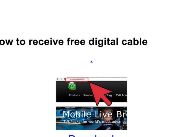 Get Free digital cable