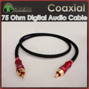 Digital Audio Coaxial cable to RCA Converter