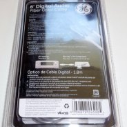 GE Digital audio Fiber Optical cable